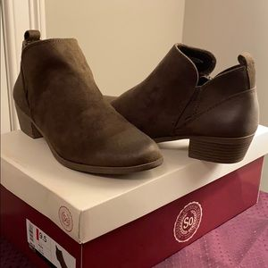 NIB So Authentic American Heritage Booties